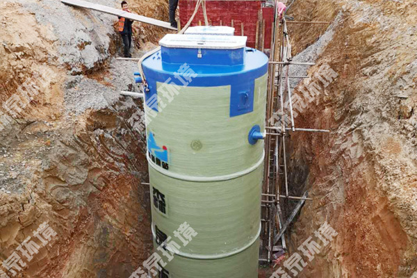 昆明玻璃钢提升泵站